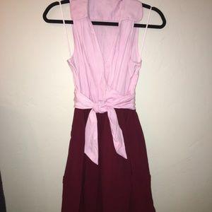 Anthro Leifnotes Daytripper Shirt Dress Size 0